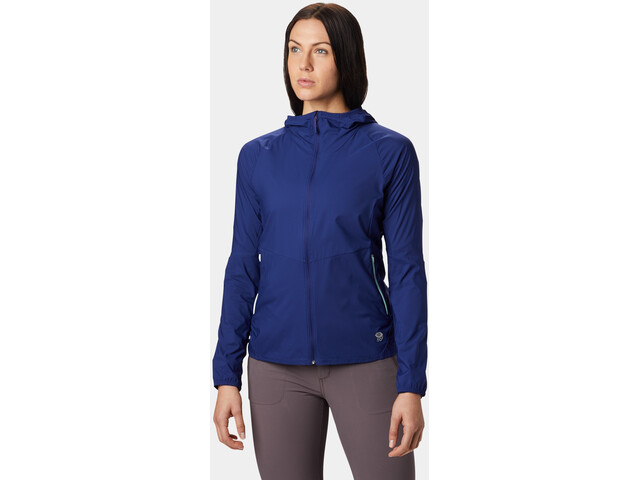 Mountain Hardwear Kor Preshell Veste à capuche Femme, dark illusion